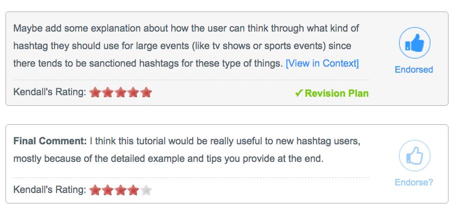 Eli Review Screenshot