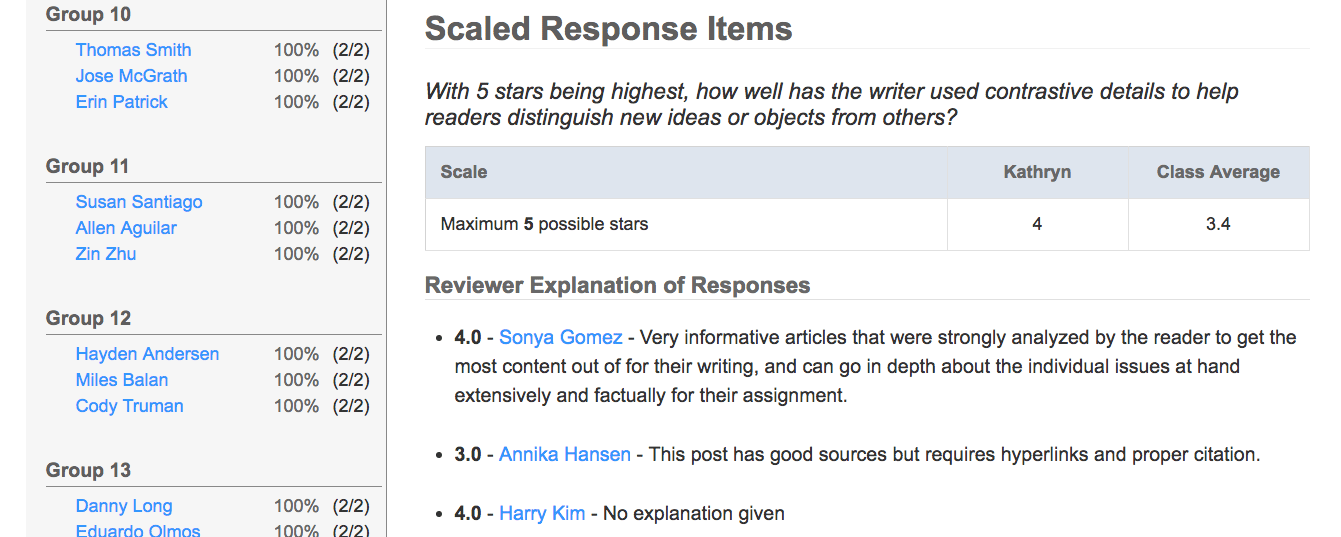 creating items and response scales The ranking question asks respondents to compare items to each other on the ranking question, any n/a responses will not scales can i create a matrix.