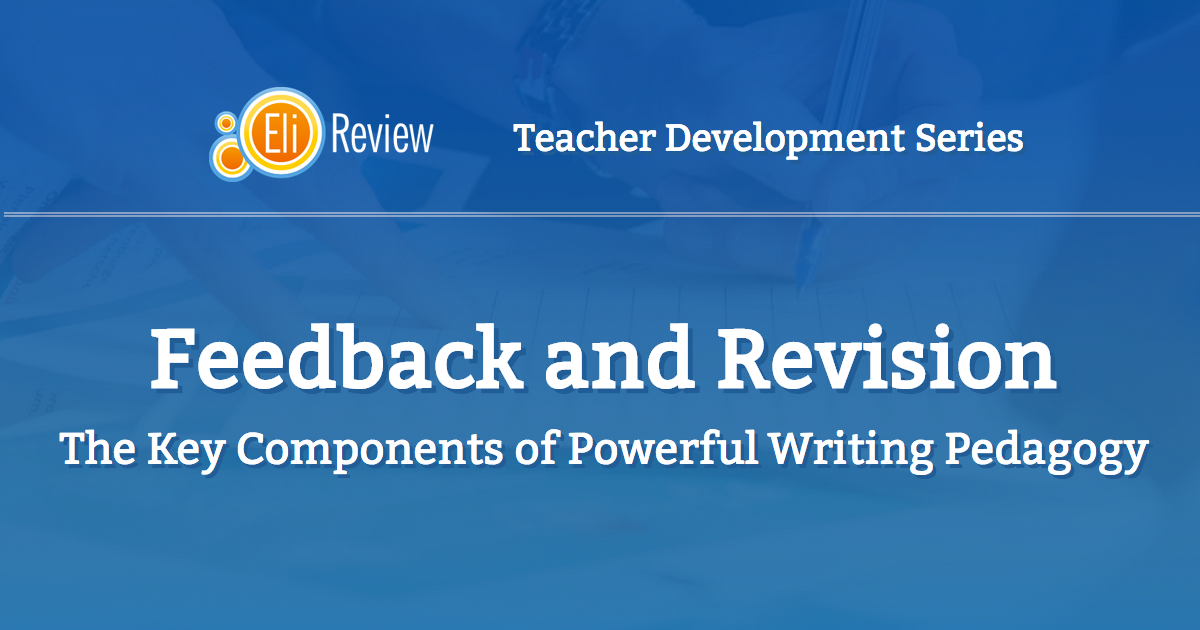"Installment 1, ""Feedback and Revision,"" is already available!"