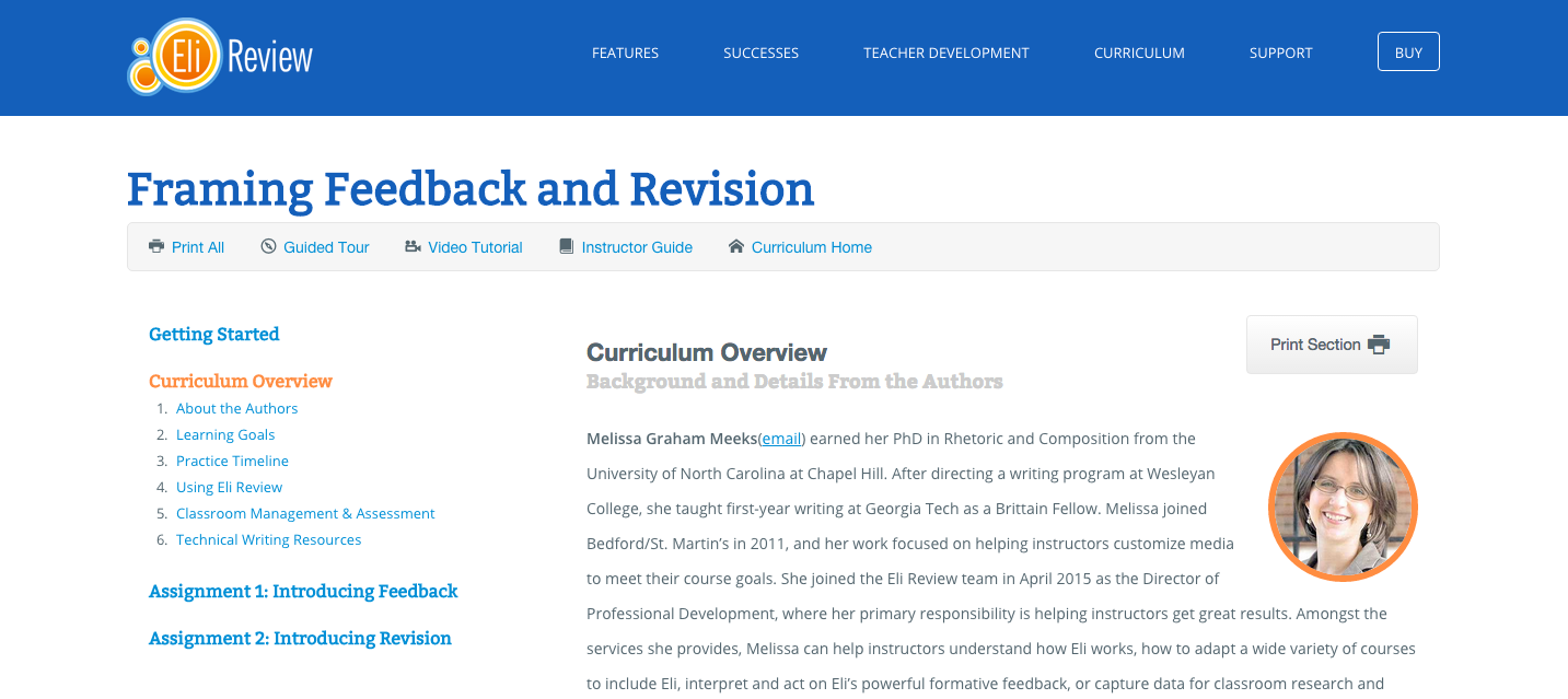 feedback-curriculum
