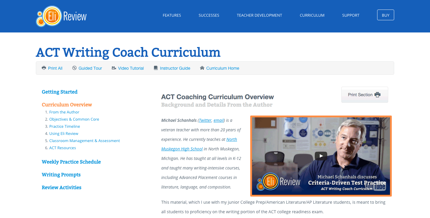 act-curriculum