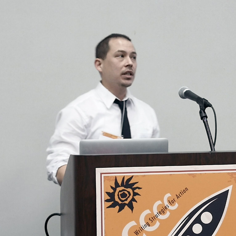 Ryan Omizo, presenting at #4c16
